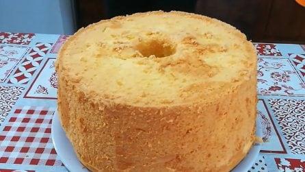 Chiffon cake: la ricetta del ciambellone alto, soffice e goloso