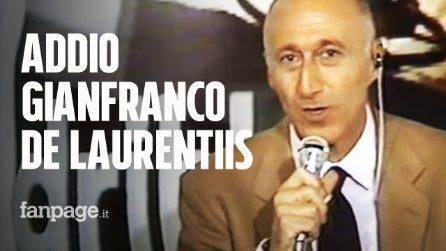 Morto Gianfranco De Laurentiis, il giornalista di Dribbling e Eurogol si è spento a 81 anni