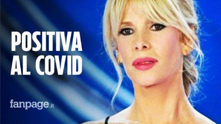 """Alessia Marcuzzi: """"Sono risultata leggermente positiva al Covid, devo fare accertamenti"""""""