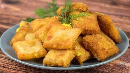 Quadrati di prosciutto fritti: la ricetta gustosa per un aperitivo pieno di sapore!