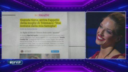 GFVip, Maria Teresa Ruta contro la storia tra Guenda Goria e Telemaco