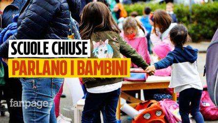 """Covid in Campania, parlano i bambini senza scuola: """"Mi mancano le maestre e gli amichetti"""""""