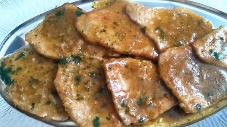 Scaloppine al marsala: la ricetta del secondo piatto cremoso e saporito