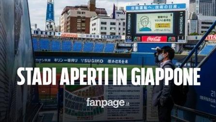 In Giappone hanno trovato il modo per non arrendersi al Coronavirus: stadi aperti ai tifosi