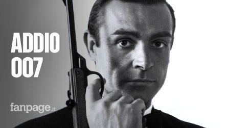 Addio a Sean Connery: ci lascia a 90 anni il leggendario 007, icona mondiale di fascino ed eleganza