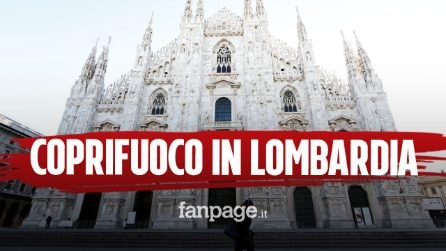 Coprifuoco in Lombardia, vietato uscire dalle 23 alle 5 del mattino: ritorna l'autocertificazione