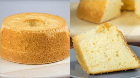 Come preparare una chiffon cake perfetta!