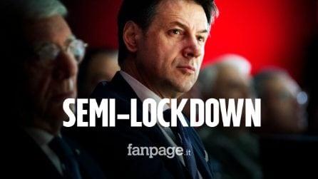Che cos'è il semi-lockdown: la misura su cui ragiona il Governo per evitare una chiusura totale
