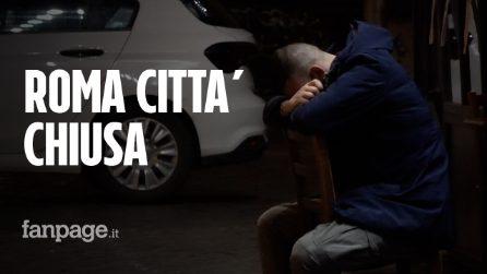 """Roma, prima notte di coprifuoco tra proteste e incomprensioni: """"Siamo allo stremo"""""""""""