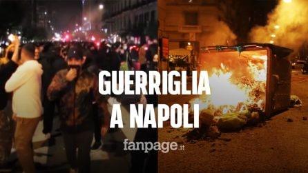 """Scontri a Napoli, le immagini della protesta fanno il giro del mondo: """"Situazione fuori controllo"""""""