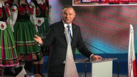 Covid-19, positivo il presidente polacco Andrzej Duda