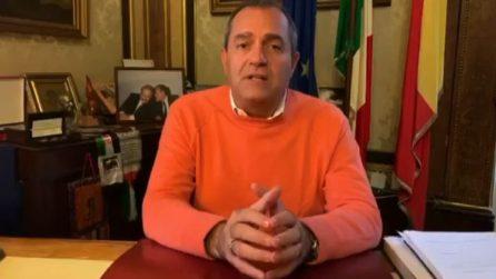 """Covid-19, de Magistris: """"Una notte buia, Napoli non è questa"""""""