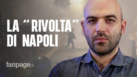 """Roberto Saviano: """"La rivolta di Napoli è il fallimento delle politiche di De Luca e del Governo"""""""
