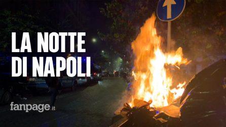 La notte in cui Napoli si è ribellata al coprifuoco imposto da Vincenzo De Luca