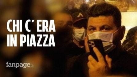 Proteste contro il coprifuoco a Napoli, in piazza anche Giorgio Mascitelli, figlio del boss Bruno