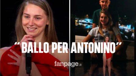 Tu Sì Que Vales, Jessica balla per il suo Antonino scomparso lo scorso anno e commuove tutti