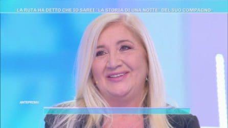 """Domenica Live - la ex del compagno di Maria Teresa Ruta: """"Non ero la storia di una notte"""""""