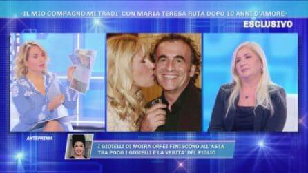 """Anna: """"Roberto Zappulla mi tradì con Maria Teresa Ruta dopo 10 anni d'amore"""""""
