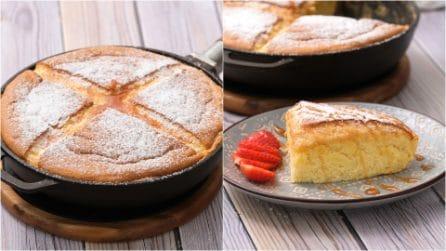 Castella pancake: il soufflè dolce pronto direttamente in padella in pochi minuti!