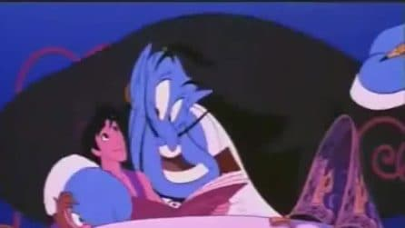 """Gigi Proietti doppiatore del Genio in Aladdin: """"Un amico come me"""""""