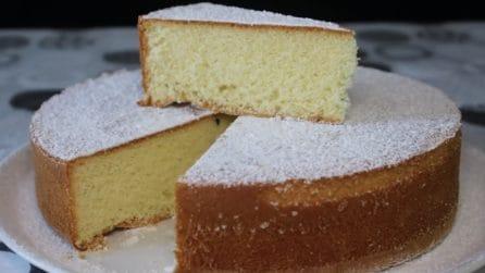 Torta margherita: la ricetta del dessert semplice e soffice