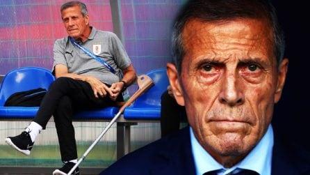 """La lezione di vita del """"Maestro"""" Óscar Tabárez, il guerriero uruguagio in stampelle"""