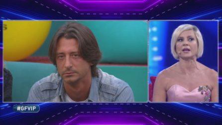 """Francesco Oppini risponde ad Antonella Elia: """"Hai problemi con qualcuno della mia famiglia?"""""""