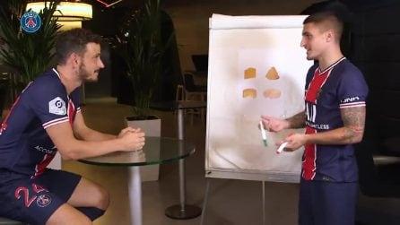 """""""Come si dice?"""", il divertente video in cui Verratti insegna il francese a Florenzi"""