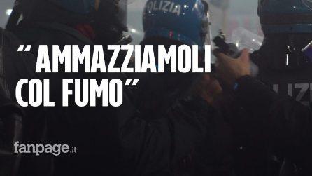 """Scontri a Milano, forze dell'ordine sparano lacrimogeni, poliziotto: """"Ammazziamoli col fumo"""""""