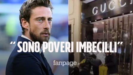 """Proteste Torino, Marchisio commenta: """"Quelli che spaccano le vetrine sono degli imbecilli"""""""