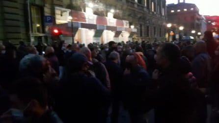 """Manifestazione dei tassisti al ministero delle Finanze: """"Governo ci ha usati in campagna elettorale"""""""