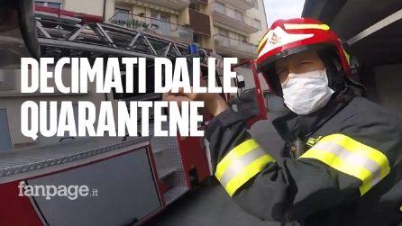 """""""Uno su 10 a casa per Covid o quarantena"""": il grido d'allarme dei Vigili del Fuoco di Roma"""