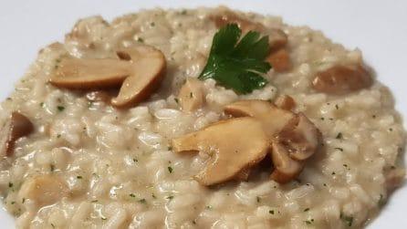 Risotto ai funghi porcini: la ricetta del primo piatto saporito