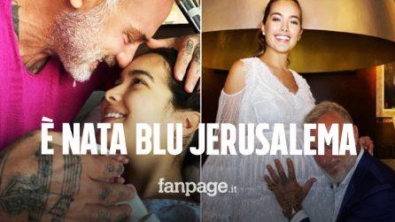 È nata Blu Jerusalema, figlia di Gianluca Vacchi e Sharon Fonseca: ecco il significato del nome