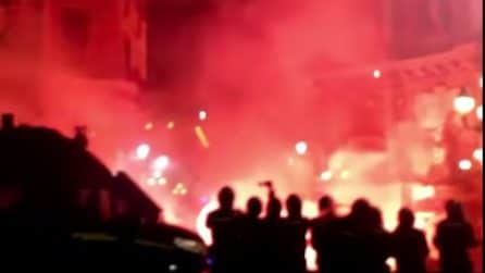 Palermo, proteste contro il mini lockdown: scontri tra manifestanti e polizia