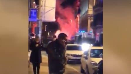 Verona, bombe carta e tensioni: proteste per le restrizioni