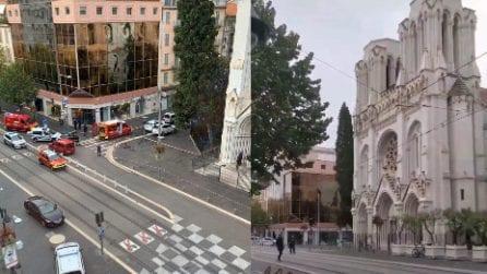 Nizza, attacco alla cattedrale di Notre Dame: un uomo e una donna sono stati uccisi
