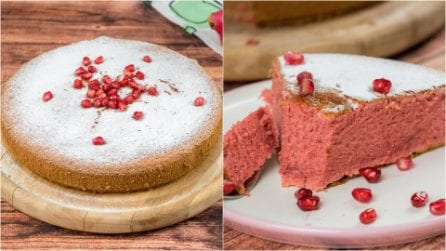 Pomegranate cake: a stunning cake ready in no-time!