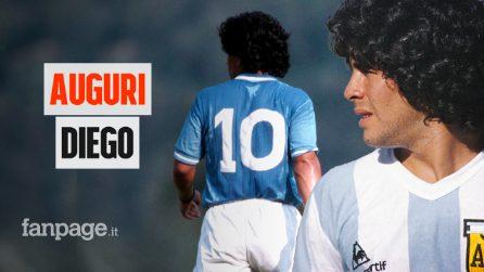 """""""El Pibe de Oro"""" compie 60 anni. Auguri al Dio del calcio che fece sognare Napoli"""