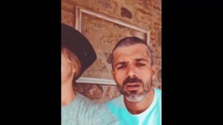 """Argentero e Marino mostrano la figlia Nina: """"Schifati dai giornali che hanno pubblicato le sue foto"""""""