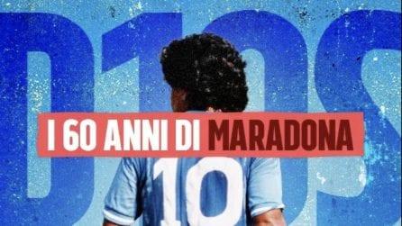 Da Mertens a Cannavaro, gli auguri a Maradona per i suoi 60 anni