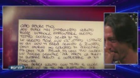 Grande Fratello VIP - La lettera d'amore per Francesco Oppini