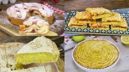4 ricette golose per preparare delle crostate piene di sapore!