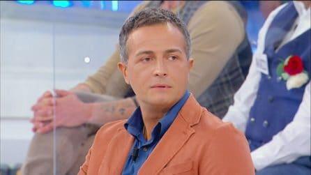 Uomini e Donne, Riccardo torna in studio da single
