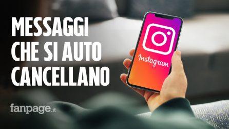 Su Instagram arrivano i messaggi che si auto cancellano: come usarli