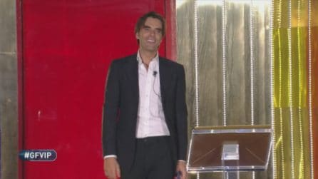 Grande Fratello VIP - La finta eliminazione di Massimiliano Morra