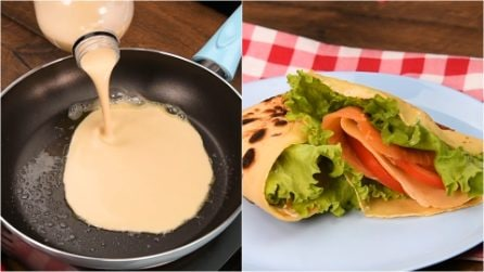 Bottle crepes: how to make them in 5 minutes!