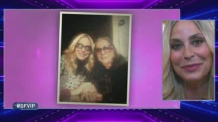 GFVip, Stefania Orlando riceve un messaggio dalla mamma