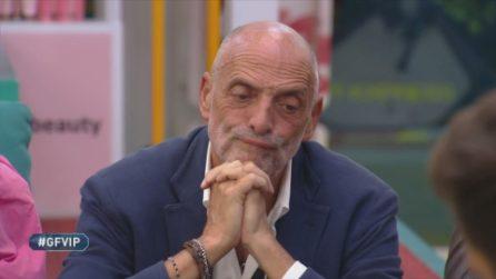 GFVip, Paolo Brosio in nomination per aver infranto il patto di riservatezza