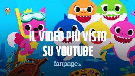 Baby Shark è il video più visto su Youtube, ha battuto anche Despacito